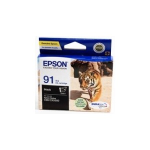 Epson T1071 (91N) Genuine Black Ink Cartridge