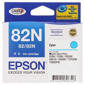 Epson T1122 (82N) Cyan Ink Cartridge