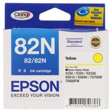 Epson Genuine T082N Yellow Ink Cartridge