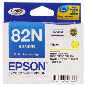 Epson T1124 (82N) Yellow Ink Cartridge