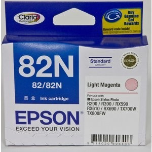 Epson T1126 (82N) Light Magenta Ink Cartridge