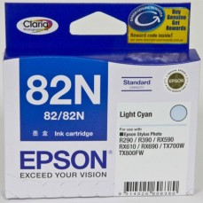 Epson Genuine T082N Light Cyan Ink Cartridge