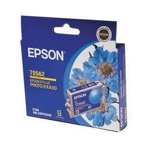 Epson Genuine T0562 Cyan Ink Cartridge