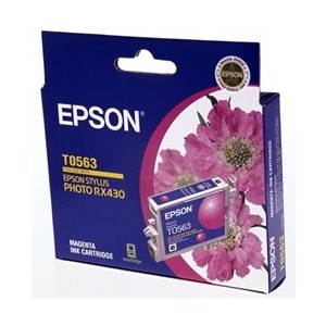 Epson Genuine T0563 Magenta Ink Cartridge