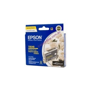 Epson Genuine T0540 Gloss Optimiser Ink Cartridge