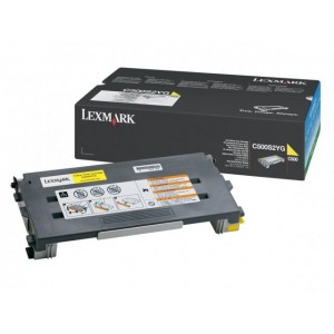 Lexmark C500 X500 X502 Yellow Genuine Toner