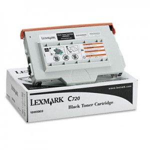 Lexmark Genuine C720 Black Toner (15W0903)