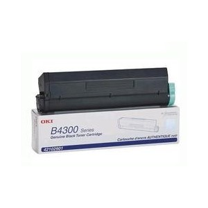Oki Genuine Toner Black B4300