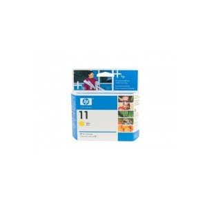 HP Genuine No.11 Yellow Ink Cartridge C4838AA