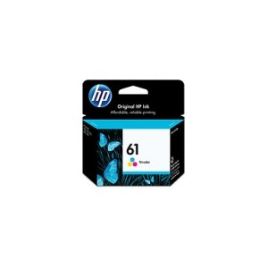 HP Genuine 61 Tri Colour Ink CH562WA