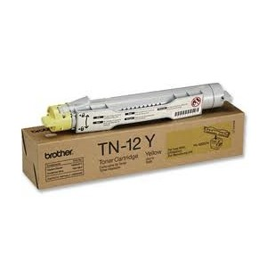 Genuine Brother TN12Y Yellow Toner