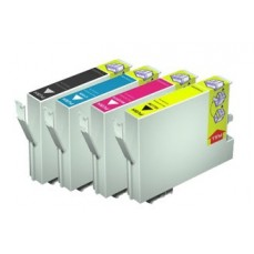 Epson Compatible T0461 Black / T0472 Cyan / T0473 Magenta / T0474 Yellow Value Pack