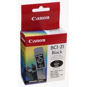 Canon Genuine BCI-21 Black Ink Cartridge