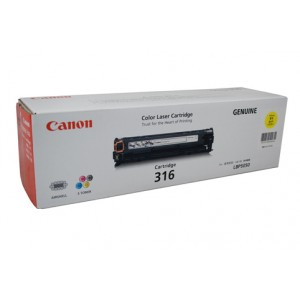 Canon Genuine CART-316 Yellow Toner