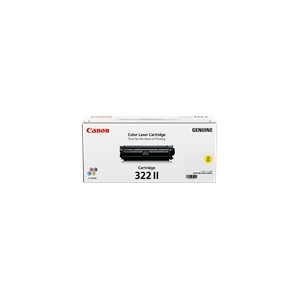 Canon Genuine CART-322II High Yield Yellow Toner