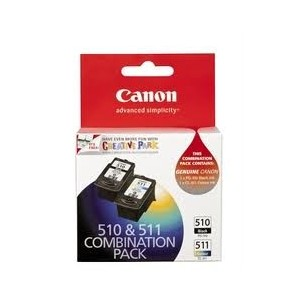 Canon PG510 + CL511 Genuine Combo Pack