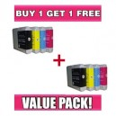 Brother LC 57 / LC 37 Value Pack (C,M,Y,K) - BUY 1 GET 1 FREE