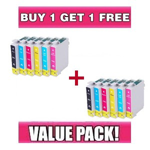 Epson 81N/82N Value Pack - BUY 1 GET 1 FREE