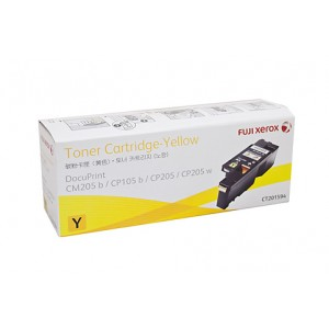 Xerox DocuPrint CP105/CP205 Yellow Genuine Toner CT201594