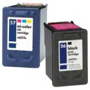 HP 56 Black & 57 Colour Compatible Value Pack