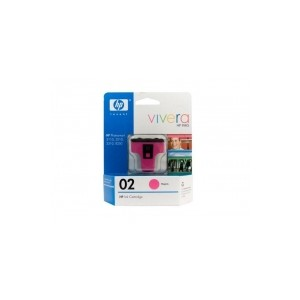 HP Genuine 02 Magenta Ink Cartridge C8772WA