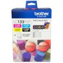 Brother LC133 Black & Colour Value Pack and Paper