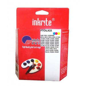 Lexmark 33 Compatible Colour Ink 18C0033