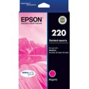 Epson 220 Genuine Magenta Ink Cartridge Standard Yield