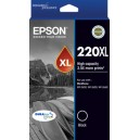 Epson 220 Genuine HY Black Ink Cartridge Standard Yield