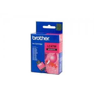 Brother Genuine LC47 Magenta Ink