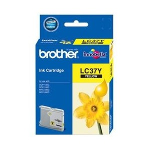 Brother Genuine LC37 Yellow Ink