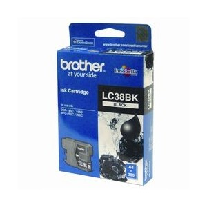 Brother Genuine LC38 Black Ink