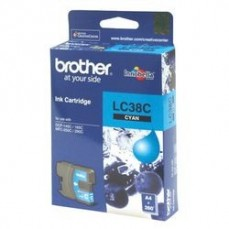 Brother LC38 Cyan