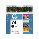 HP Genuine 74 Black Ink Cartridge CB335WA
