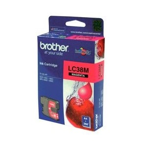 Brother Genuine LC38 Magenta Ink
