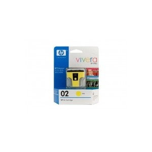 HP Genuine 02 Yellow Ink Cartridge C8773WA