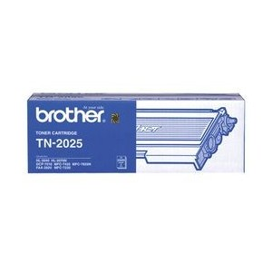 Genuine Brother TN2025 Black Toner