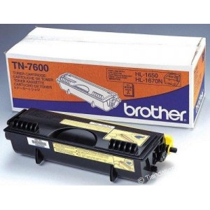 Brother Genuine TN7600 Black Toner