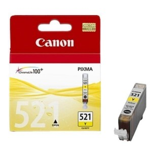 Canon Genuine CLI521 Yellow Ink Cartridge