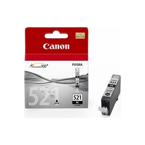Canon Genuine CLI521 Black Ink Cartridge