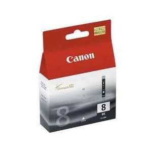 Canon Genuine CLI8 Black Ink Cartridge