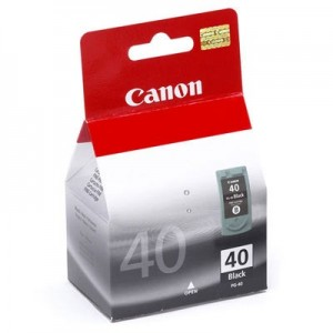 Canon Genuine PG40 Black Ink Cartridge