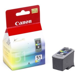 Canon Genuine CL51 Tri-Colour Ink Cartridge