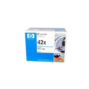 HP 42X (Q5942X) Genuine High Capacity Black Toner