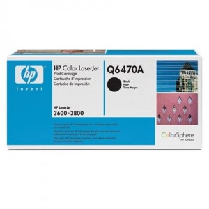 HP Q6470A Genuine Black Toner