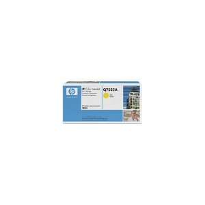 HP Q7582A Genuine Yellow Toner