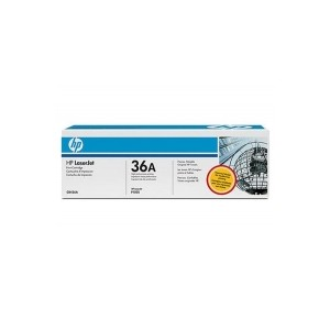 HP 36A Genuine Black Toner CB436A