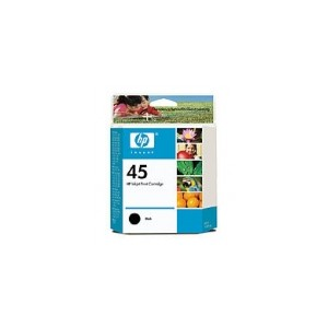 HP 45 Genuine Black Ink (51645AA)