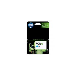 HP 920XL Genuine Cyan Ink CD972AA