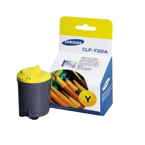 Samsung Genuine CLP300 CLX2160N 3160FN Yellow Toner Cartridge CLPY300A CLP-Y300A